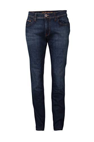 Camel Active Herren Straight Leg Jeans Hose 5-POCKET HOUSTON stone blue used W46/L30