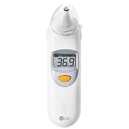 Braveheat Shop Infrarot-Ohrthermometer Digitaler LCD-Temperaturleser, Infrarot-Thermometer Pistole Digitales Thermometer, Kinder Baby Genaue Sofortablesungen