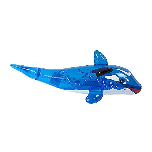 Luftmatratze, aufblasbar, Delfin für Kinder, 110 cm (48913)