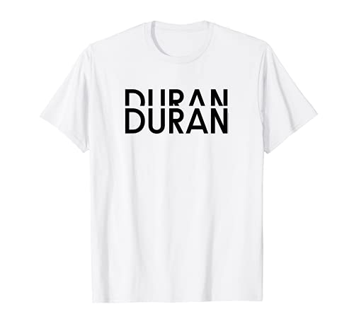 Official Duran Duran T-shirt for Men and Women in 5 Colours, S to 3XL