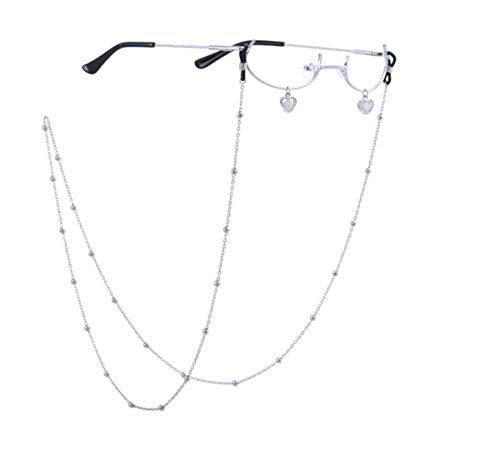 ハーフフレームメガネフレーム、ファッションメガネ、かわいい女の子風メガネフレーム、コスプレエッセンシャルメガネ、人気の insネット有名人眼鏡フレーム (ピンク)