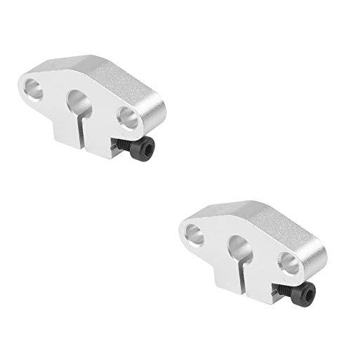 S SIENOC Kugellager-Halterung/Kugellager-Set für 3D-Drucker 8 mm Linear-Führungsstange (2, Horizontal Halterung)