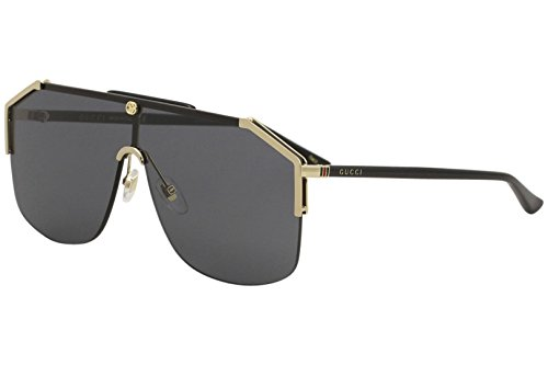 Gucci gg0291s 100% Authentic MenÃ'â€s Sunglasses Gold 001, 99-0-140