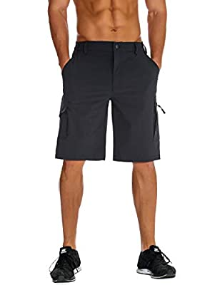 Unitop Mens Hiking Shorts Gray L