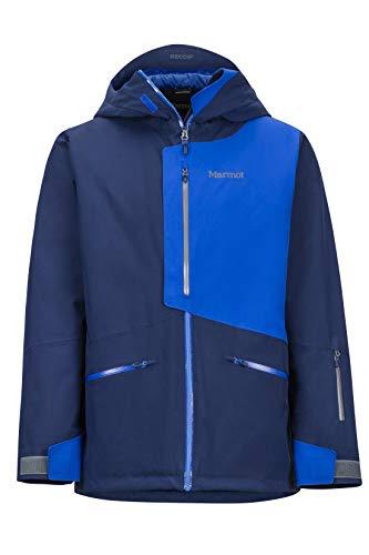 Marmot Herren Hardshell Ski- Und Snowboard Jacke, Winddicht, Wasserdicht, Atmungsaktiv Androo, Arctic Navy/Surf, L, 74720