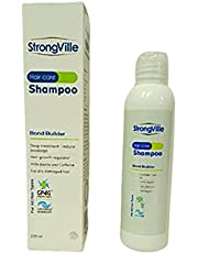 Strong Ville Biotin & Caffeine Shampoo - Deep Breakage Reduction Treatment -220ml