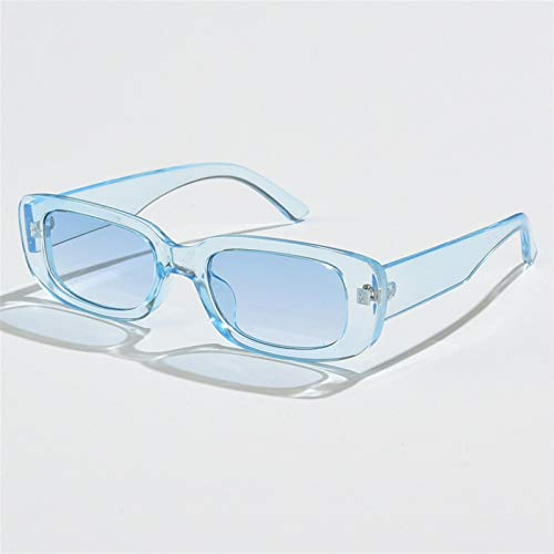 Gafas de sol de marco masculino y femenino retro, gafas de sol rectangulares, gafas de sol de color, gafas de sol de pesca, gafas de sol de la calle, regalo del día de la madre, regalo para novia
