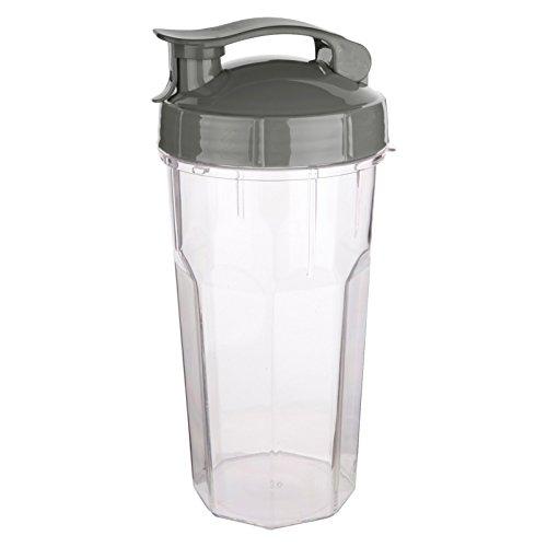 SuperVital 7012495000057000 Vital Pure Blender Cup 900 ml, grau