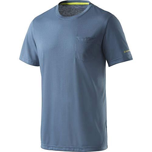 ENERGETICS Till Camiseta, Hombre, Blue Petrol, Medium