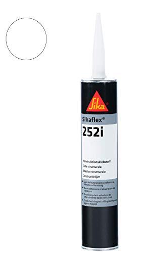 Sikaflex 252i vielseitig einsetzbarer Konstruktionsklebstoff 300 ml weiß