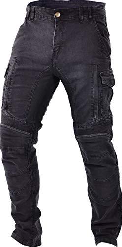 Trilobite Säure Scrambler Motorrad Jeans in Slim Gerade Passform