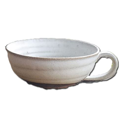 和食器 信楽焼 チタン窯変 スープカップ マグカップ カフェオレ おうち カフェ 食器 陶器 しがらき焼 らいすぼ〜る 春日井 軽井沢