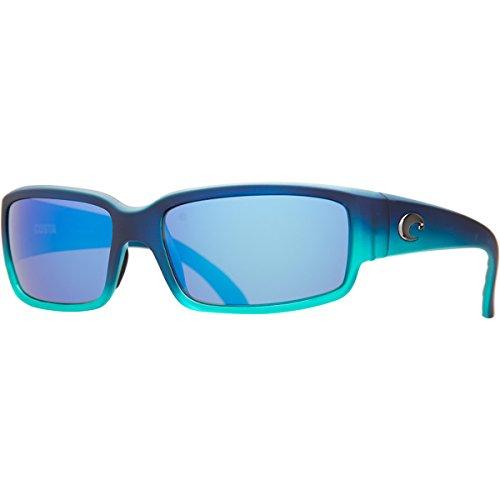Costa Del Mar Caballito Adult Polarized Sunglasses, Matte Caribbean Fade Blue