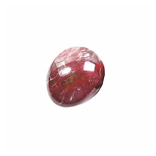 LULIJP Natürlicher Quarzkristall Rohe Edelstein Ornament poliert Quarzhandwerk Fischtank Dekorieren Stein (Color : Braun, Size : 70g)