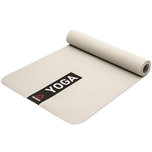 Reebok Unisex Yogamatte, Weiß, 4 mm EU