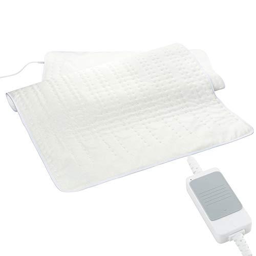 Elektrisches Unterbett 80x150cm mit 3 Heizeinstellungen | Heizdecke zum Vorwärmen des Bettes | ideal für Betten 90x200 cm | Abschaltautomatik | 40° C waschbar | weiches & atmungsaktives Wärmebett