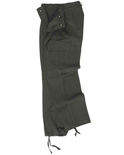 Mil-tec bW style armée allemande moleskin original noir-bW-taille 12