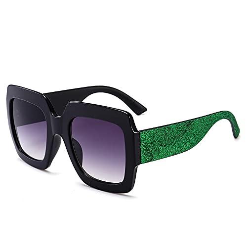 SONGYUAN Gafas De Sol con Montura Multicolor Americana Gafas De Sol Frescas...