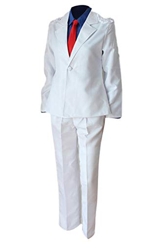 Bilicos Detective Kid The Phantom Thief Magic Kaito Kuroba Kaito Uniforme Traje Cosplay Disfraz Hombres L