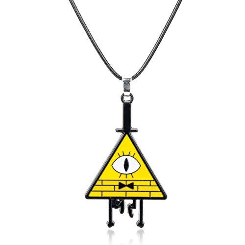 ZYLL Colgante Geométrico De Metal De Color Creativo, Collar, Collar, Hombres Y Mujeres, Joyería, Regalos
