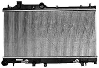 TYC 2778 Subaru 1-Row Plastic Aluminum Replacement Radiator
