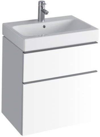 Keramag iCon Waschtischunterschrank 840360 595x620x477 mm, Alpin Hochglanz