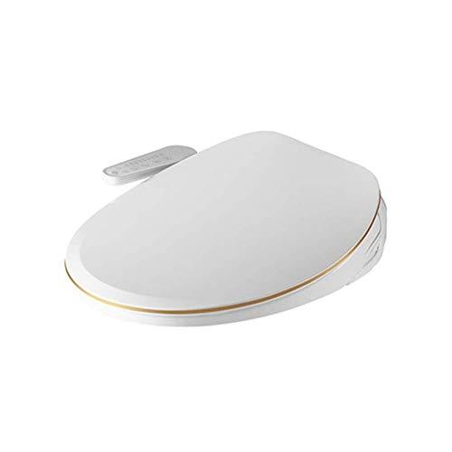 MYERZI Smart-WC-Sitz Smart Toilettensitz, Bidet elektrisches Digital Intelligent WC-Sitz, Deodorant Warmlufttrocknung Toiletten-Abdeckung Induction Energiesparmodi Temperiergeräte Desinfektion