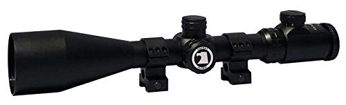 Osprey Global ES4-16X56MDG Elite Series Mil-Dot Glass Etched Lit Reticle Scope, 4-16x 56mm, Matte Black (8-32x 56mm)