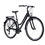 Kross Bicicleta Trans 1.0 Trekking Lady 28' Negro/Gris
