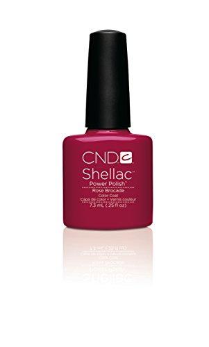 CND Shellac Esmalte de Uñas de Gel, Tono Rose Brocade