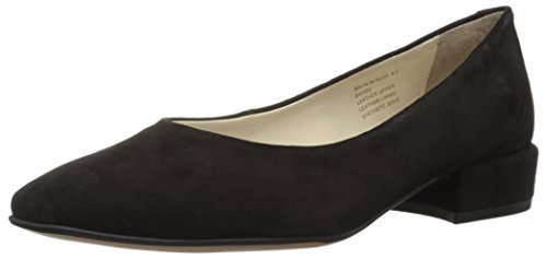 Kenneth Cole New York Damen Dress Pump with A Low Heel Bayou, Elegante Pumps mit niedrigem Absatz, schwarz, 39 EU