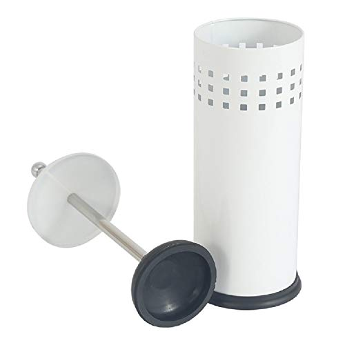 XIAOQIU Conjunto de émbolo de Inodoro con Soporte Limpiador de Tubos de Inodoro Herramienta sin Oculto para baño Tina de Ducha de desagüe de Fregadero de Cocina