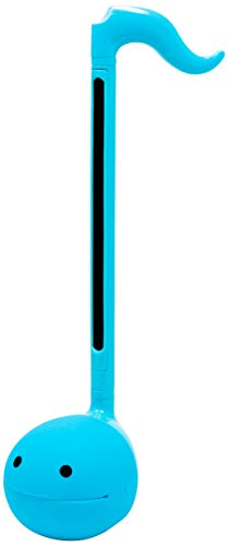 Otamatone [Color Series] Japanese Electronic Musical Instrument Portable Synthesizer from Japan by Cube/Maywa Denki [English Version] [Regular Size], Blue