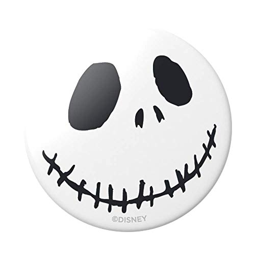 PopSockets: PopGrip with Swappable Top for Phones & Tablets - Nightmare - Jack Skellington