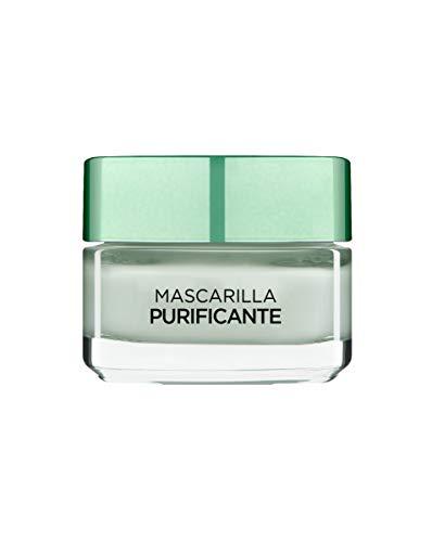 L\'Oreal Paris Dermo Expertise - Arcillas puras mascarilla purificante y matificante, color verde - total 50 ml