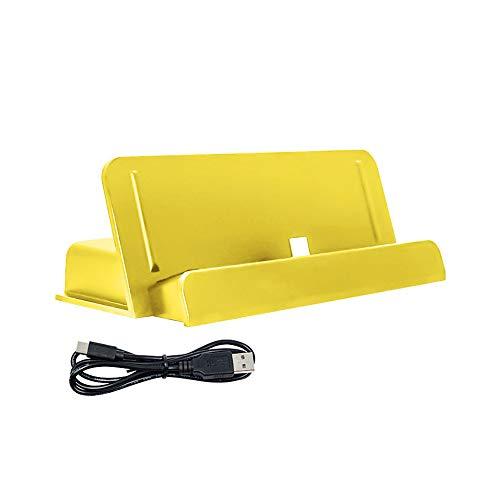 Tragbare Halterung mit USB-Ladegerät für Nintend Switch Lite, Switch Mini NS NX-Konsole, Zubehör
