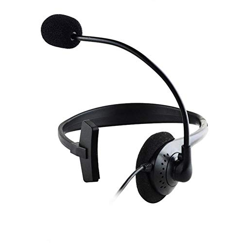 iPenty einseitiges Headset, Mikrofon mit Geräuschunterdrückung, Operator-Kopfhörer für Büro