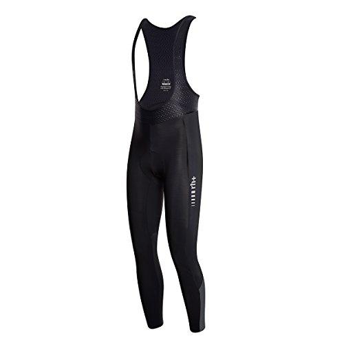 rh+ Starman Bibtigh, Pantalone da Ciclismo Uomo, Nero/Reflex, XL