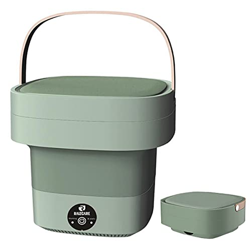 Portable Washing Machine Folding Mini Washer With English Manual Washer Perfect for Camping, Travelling, Apartment,School dormitory