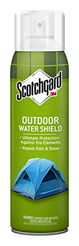 Scotchgard Heavy Duty Water Shield, Repels Water, Ideal For Outerwear, Tents, Backpacks, Canvas,...