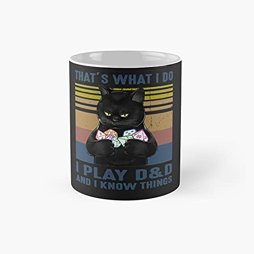 That's What I Do Play Classic Mug - 11 Ounce For Coffee, Tea, Chocolate Or Latte.