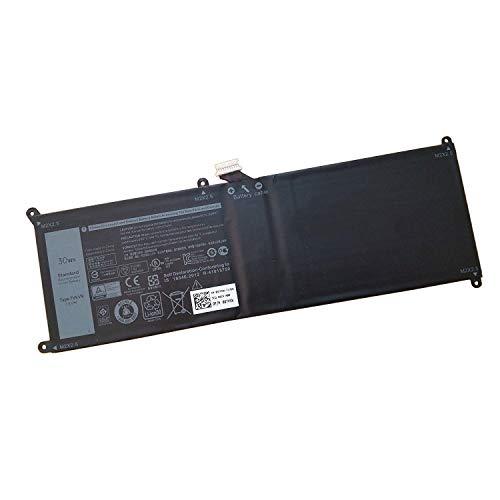 7XINbox 7.6V 30Wh 7VKV9 Ersatz Akku Batterie für Dell XPS 12 9250 Latitude 12 7275 9TV5X 0V55D0 V55D0