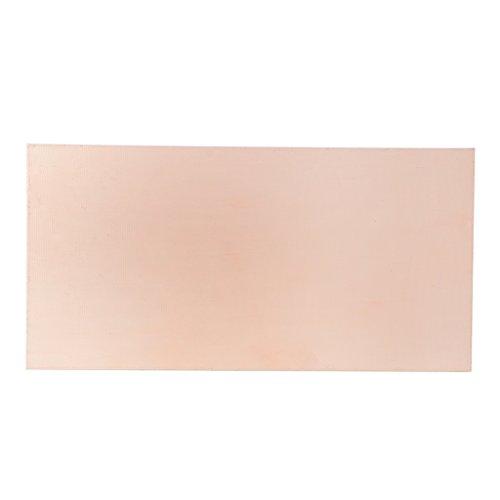 FXCO Laminat FR4 Kartenschlitz, Bedruckt, doppelseitig, Kupfer, 100 x 200 x 1,5 mm