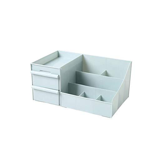 SHYPT Caja De Almacenamiento del Compartimiento Mezzanine, Tocador, Caja De Colección De Cajones, Bastidor De Maquillaje para Esquinas De Esquina (Color : A)