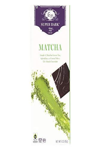Vosges Haut-Chocolat, Matcha Green Tea & Spirulina Super-Dark Chocolate Bar, 3 oz