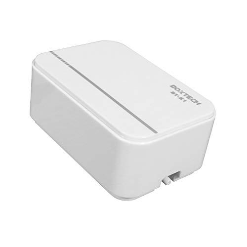 boxtech Ruhiger Mini Luftpumpe für Aquarium 2 Watt Sauerstoff Fisch Luftpumpe Belüftungspumpe für 5-200 L Aquarium (Weiß)