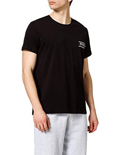 BOSS Herren T-shirt Rn 24 T Shirt, Black1, L EU