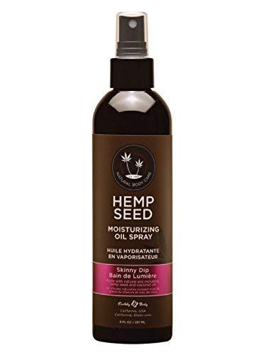 Earthly Body Hemp Seed Moisturizing Oil Spray (8 fl. oz.) - Skinny Dip