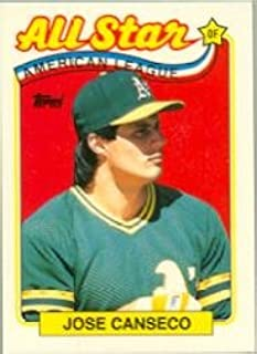 1989 topps jose canseco