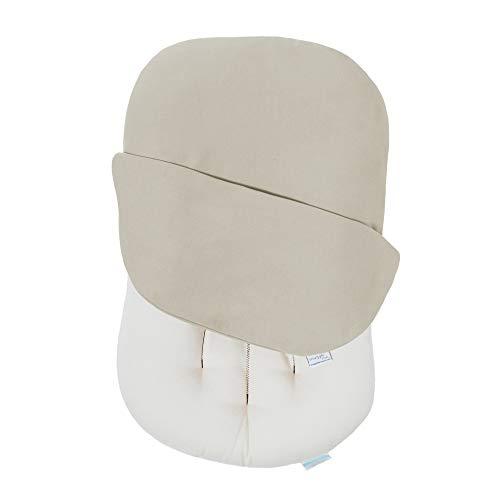 Snuggle Me Organic   Baby Lounger & Infant Floor Seat   Newborn Essentials   Organic Cotton, Fiberfill   Birch